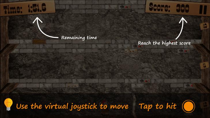 Představení uživatelského prostředí hry