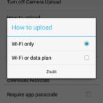 Automatická záloha fotek a videí v Dropboxu