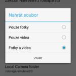 Automatická záloha fotek a videí v MEGA