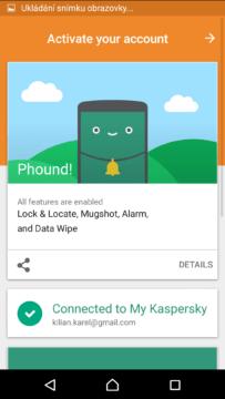 Prostředí aplikace Phound!