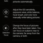 Aplikace Fotoaparát v Samsungu Galaxy S6