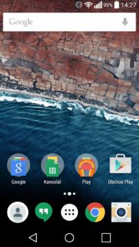 Aplikace Google Launcher