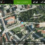 DJI Pilot – dashboard mapa