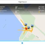 DJI Pilot – letovy denik zaznam letu