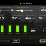 DJI Pilot – stav baterie
