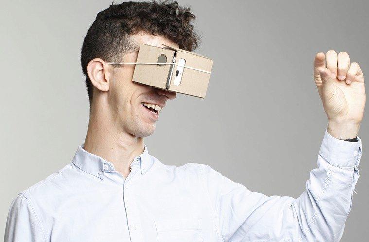 Google Cardboard, virtual reality