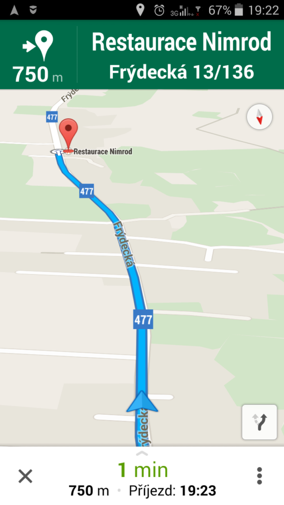 Lenovo A5000 - test GPS