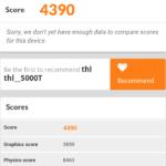 THL 5000T 3D mark