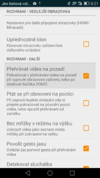 VLC Player - přehrávání videa
