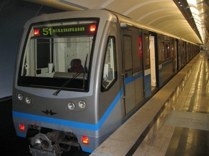 Souprava metra Метровагонмаш