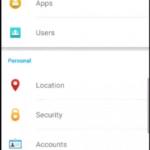 Android 5.1.1 na Sony Xperia Z3