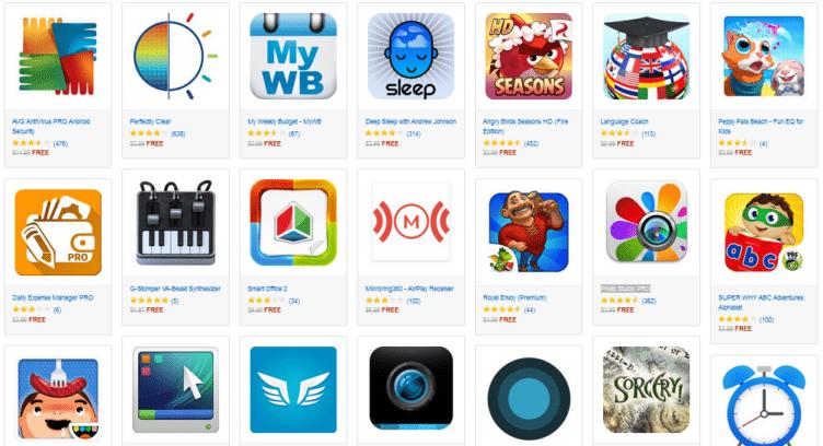 amazon app store slevy
