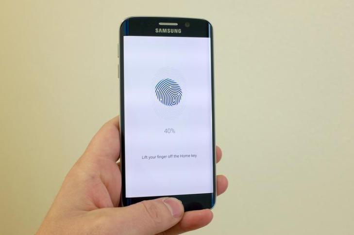 android m snímač otisků prstu