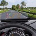 Head-up Display Bosch ve vozech BMW