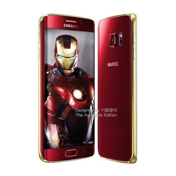 iron man galaxy s6 edge samsung