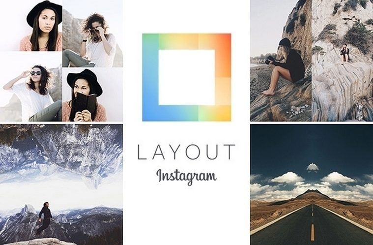 layout instagram hlavni