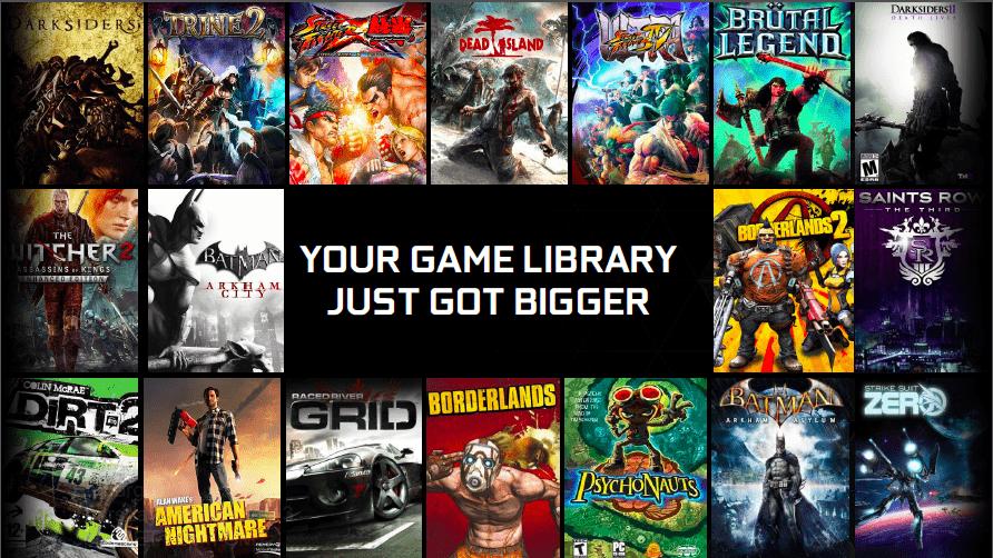 nvidia grid games