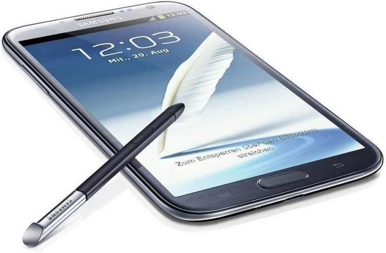 samsung galaxy note 2 hlavni