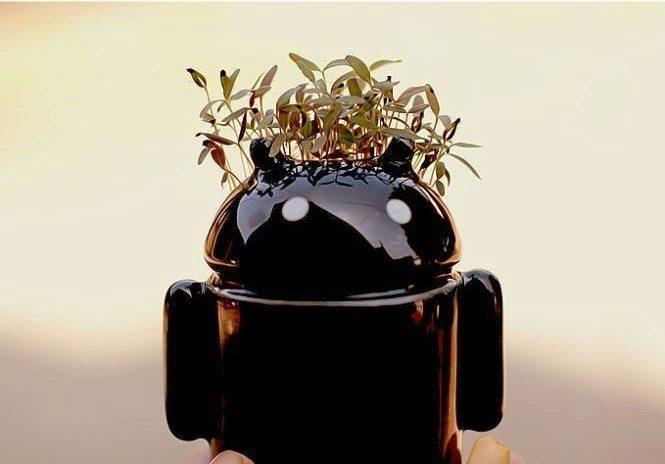zboží Čína - keramický květináč android