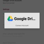 Propojení s Diskem Google