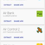 Zobrazení seznamu aplikací
