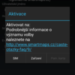 Aktivace licence
