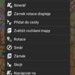 Do levé lišty lze přidávat a odebírat tlačítka