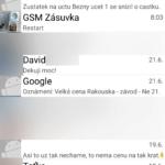 Oskárek: uživatelské rozhraní aplikace