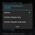Nastavení vzhledu aplikace
