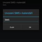 Nastavení SMS plánovače