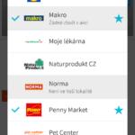 Výběr obchodů