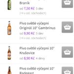 Výběr produktů