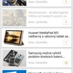 Android aplikace Svět Androida soutěž