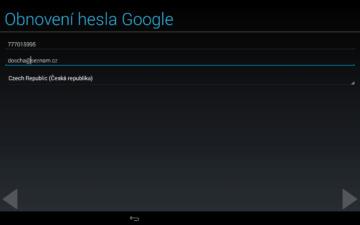 Android pro začátečníky – google účet (13)