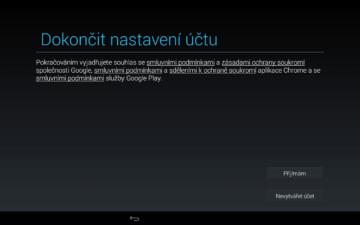 Android pro začátečníky – google účet (15)