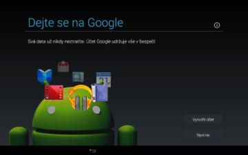 Android pro začátečníky – google účet (3)