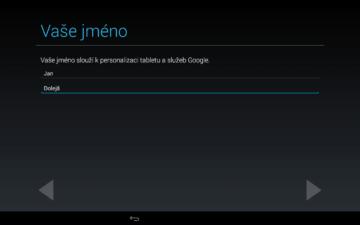 Android pro začátečníky – google účet (4)