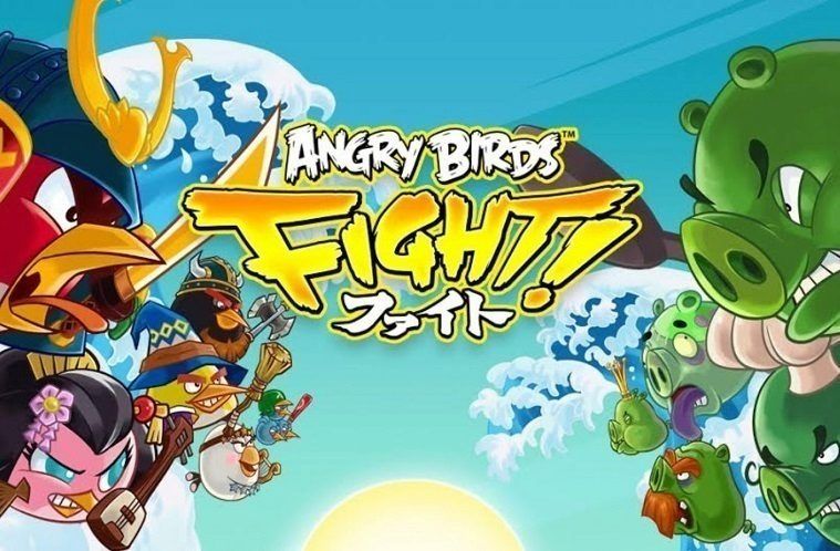Angry Birds Fight Titul