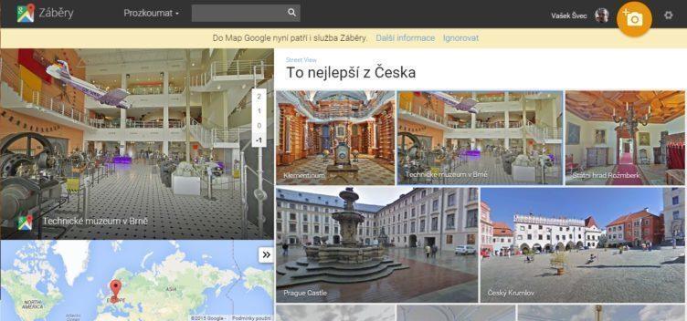 Google Street View to nej z čr