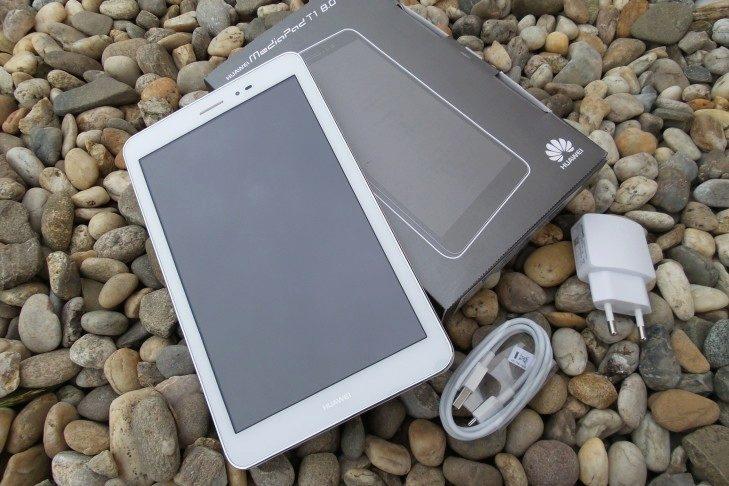 Huawei MediaPad T1 obsah balení