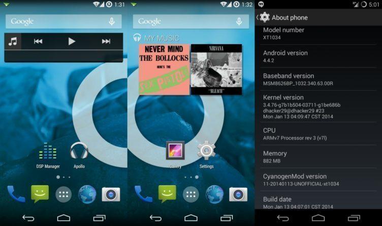 CyanogenMod 11 vychází z Androidu 4.4 KitKat