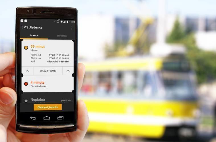 SMS jízdenka opensource