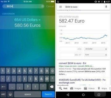iOS 9 vs Android Siri
