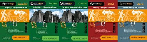 Na oficiálním webu najdete celkem sedm kategorií mapových podkladů