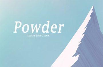 Hra Powder – Alpine Simulator – Oddechové lyžování pro Android