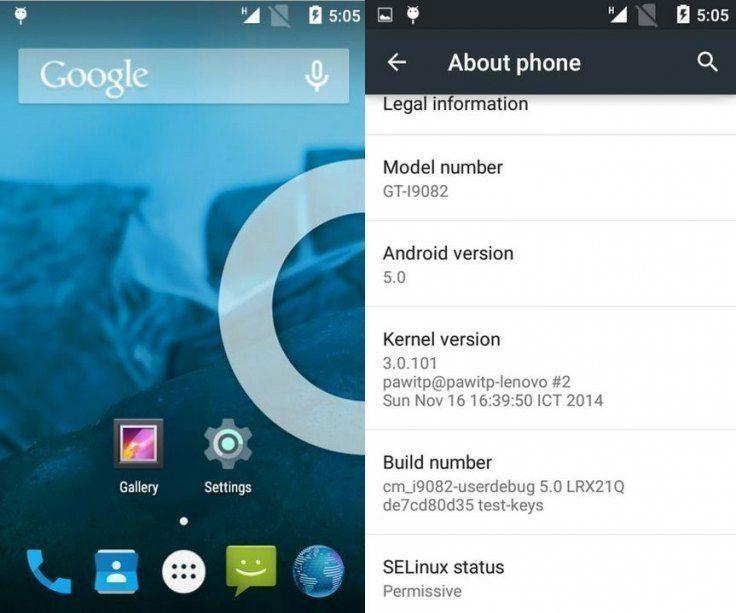 CyanogenMod 12 nabízí Android 5.0 Lollipop