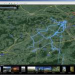 Prohlížení v aplikaci Google Earth