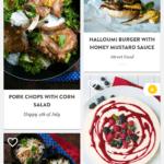 Prostředí aplikace Kitchen Stories