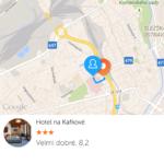 Nalezené hotely