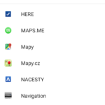 Navitel Navigator nespolupracuje s ostatními aplikacemi